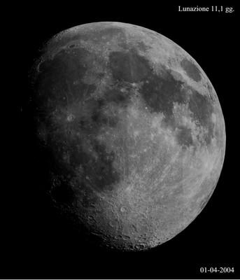 Luna 11,1 giorni
