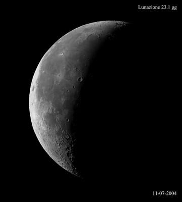 Luna 23,1 giorni